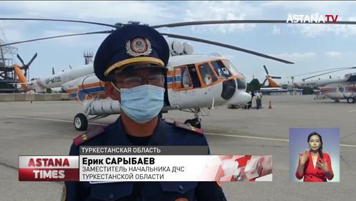 Сумку одного из пропавших туристов нашли у реки в Туркестанской области