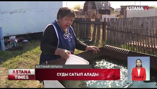 Тобыл өңіріндегі ауыл тұрғындары ауыз суға жарымай отыр