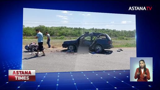 Жуткая авария в Уральске: оба водителя погибли на месте