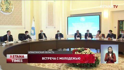 Молодежь Алматинской области проявила большую активность во время пандемии