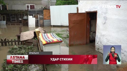 Школы, больницы и тысячи горожан остались без электричества из-за дождя в Уральске