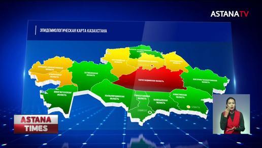 1300 заболевших коронавирусом выявлено в Казахстане
