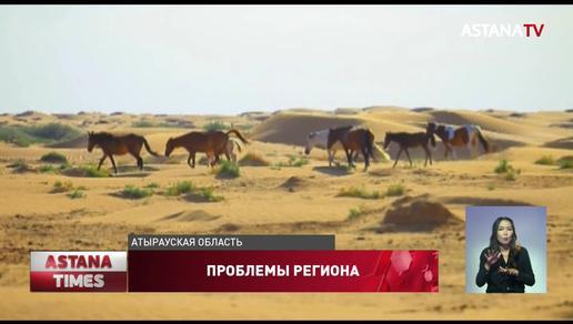 Об экологических проблемах на западе страны рассказали депутатам атыраусцы