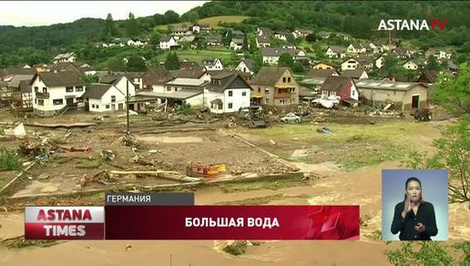 Из-за ливней и наводнения 11 человек погибли и 60 пропали без вести в Германии