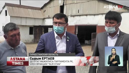 Вопросы сельчан Туркестанской области рассмотрят на республиканском уровне