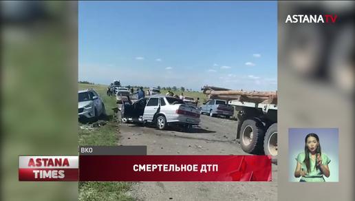 Лобовое столкновение: две семьи погибли на дороге к Алаколю