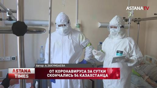 Более пяти тысяч больных КВИ казахстанцев зарегистрировали за сутки