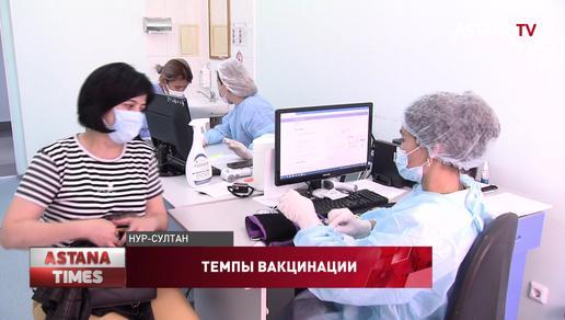 По 5 тысяч человек ежедневно вакцинируются от коронавируса в столице