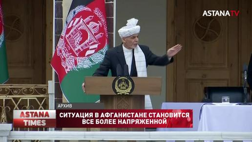 Сбежавший президент Афганистана записал первое видеобращение