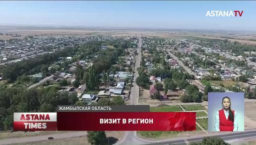 Назарбаеву доложили о восстановительных работах в Жамбылской области после взрывов