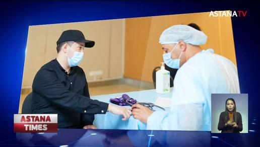 «Самұрық-Қазына» қызметкерлерінің 75% коронавирусқа қарсы екпе алды