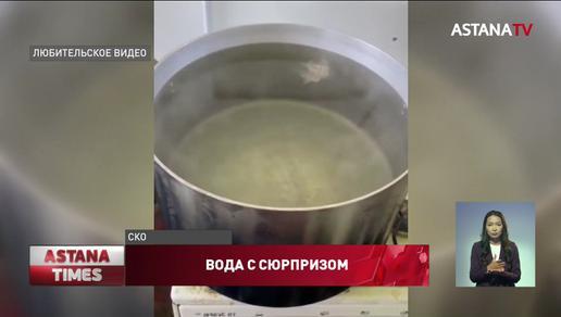 На воду со слизью пожаловались сельчане в Северном Казахстане
